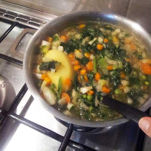Winterse soep