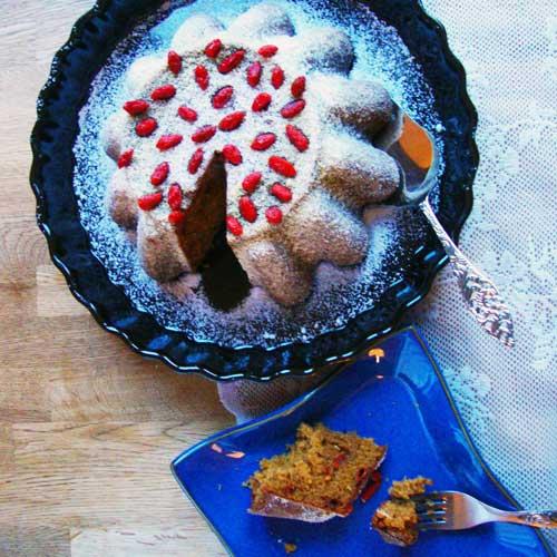 Goji-bessen Cake