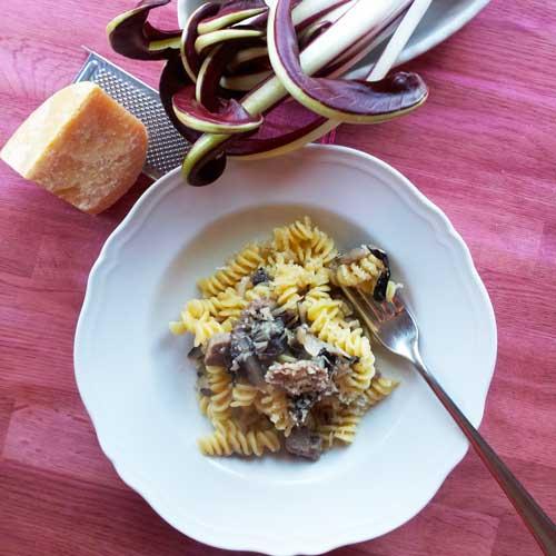 Pasta met Radicchio Rosso di Treviso