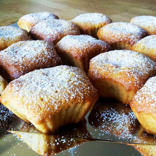 Amandel Banaan Muffins